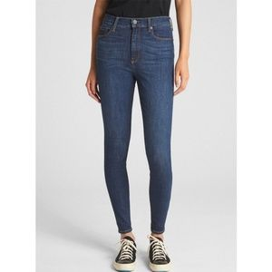 Gap True Skinny Super High Rise Jeans